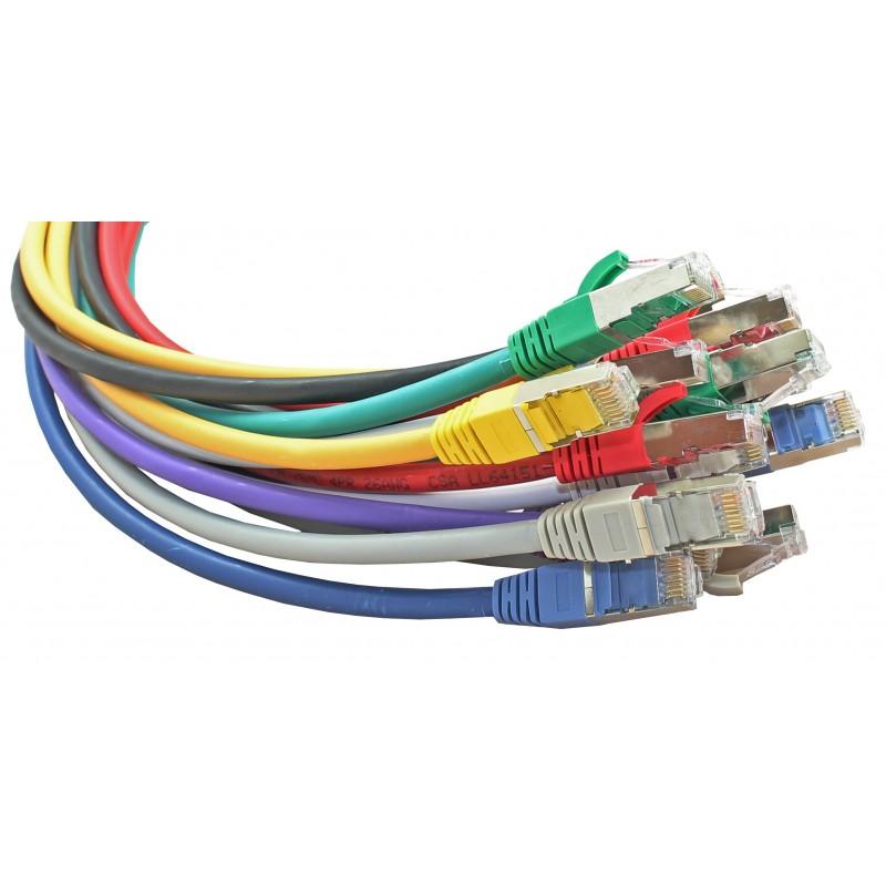 CONNECT EXC 850329 Full Copper Cat.6a F//UTP LSZH Patch Cord Blue