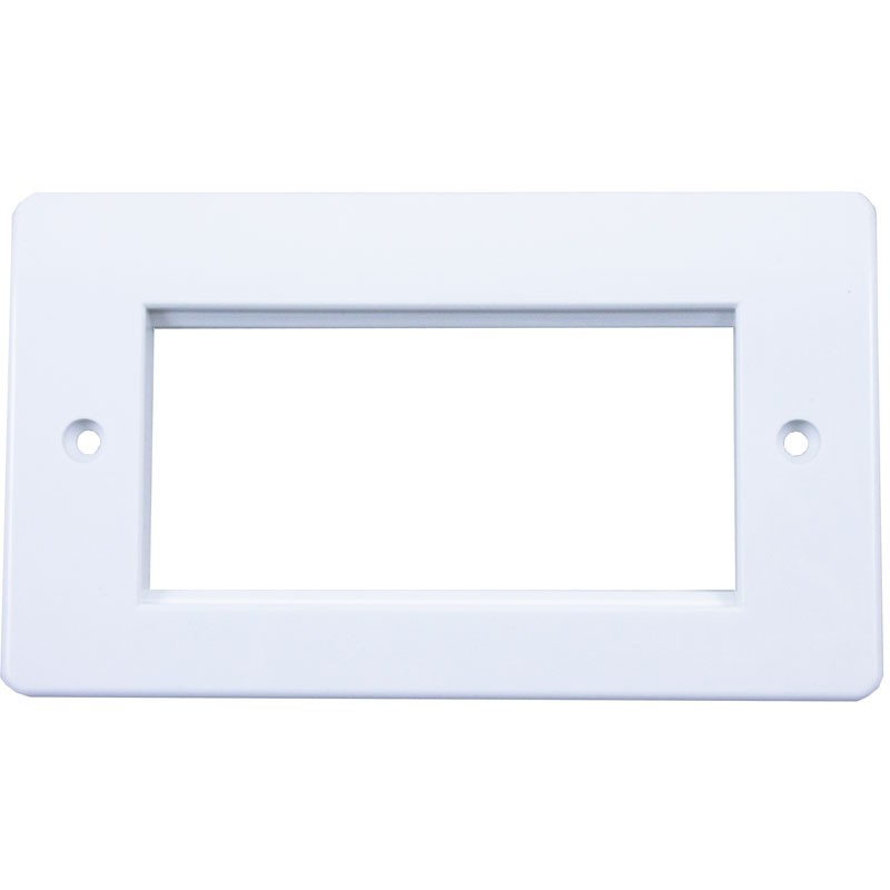 Singlegang Office Style Euro Faceplate