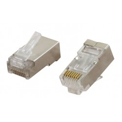 CCS Cat6a FTP RJ45 Plug for Sold Core Cable
