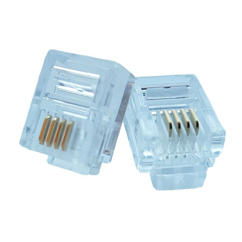 RJ11 Modular Plug - Pack of 50