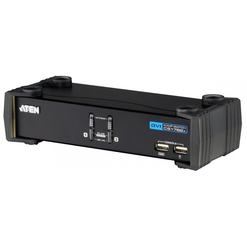 ten CS1762A USB 2.0 DVI KVMP Switch