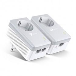 TP-LINK AV600 2-port Passthrough Powerline Starter Kit