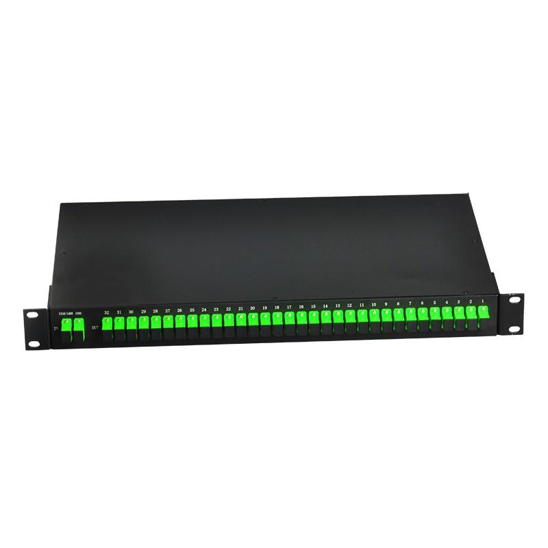 Rack Mounted PLC Optical Splitters