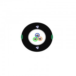 Singlemode Outdoor UV PE, OD 7.1mm