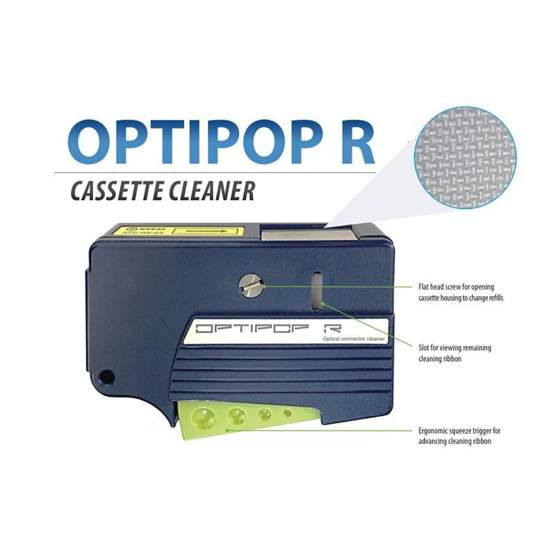 Optipop - Single Ferrule and Female MT Cassette Cleaner