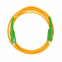 Pre-terminated optical fibre patch cord - SC/APC