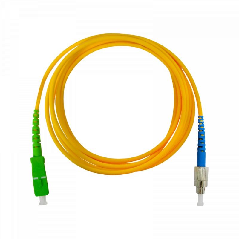Pre-terminated optical fibre patch cord