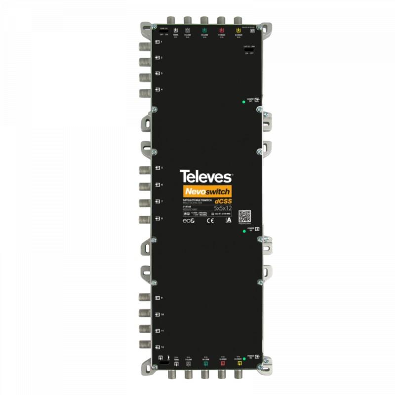dCSS NevoSwitch 5 inputs - 12 outputs