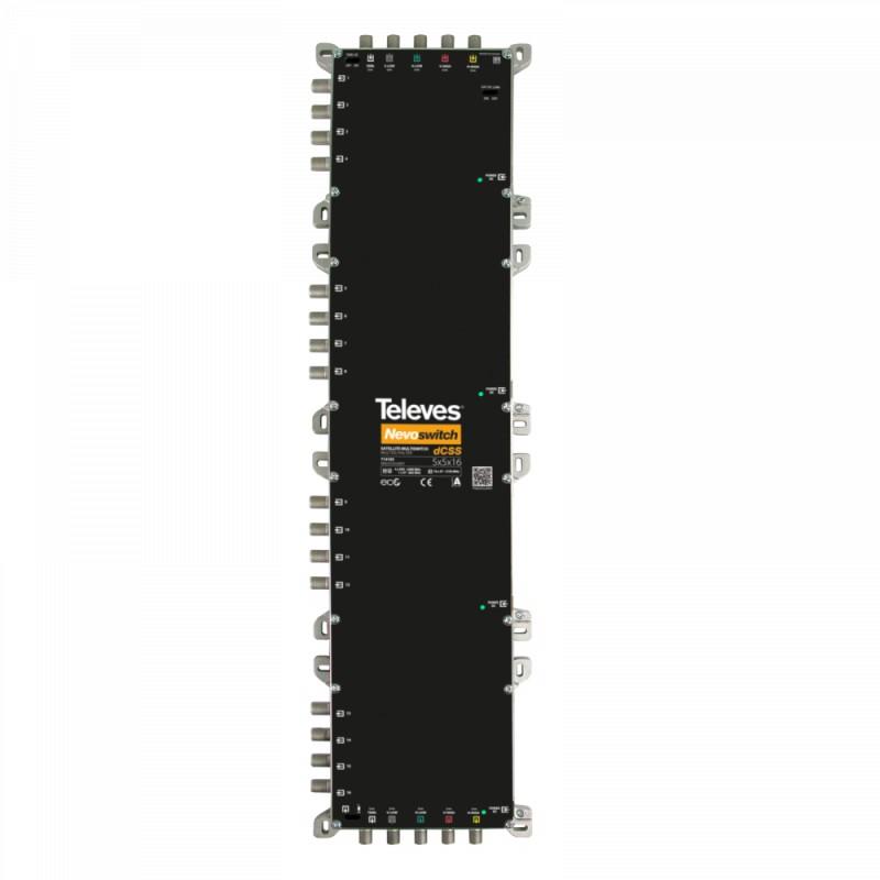 dCSS NevoSwitch 5 inputs - 16 outputs