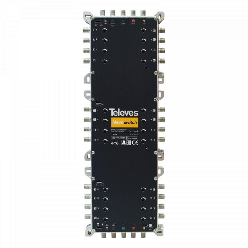 NevoSwitch 5 inputs - 24 outputs