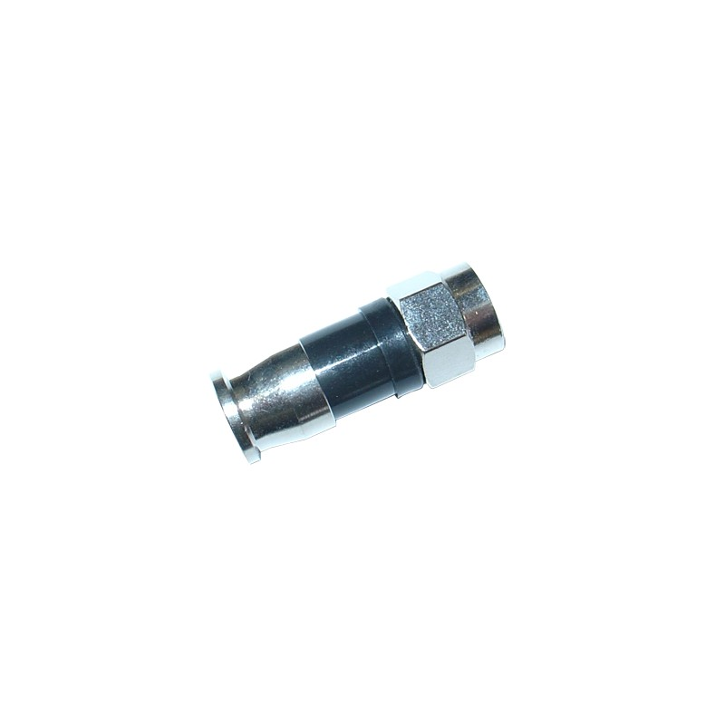 F compression connector