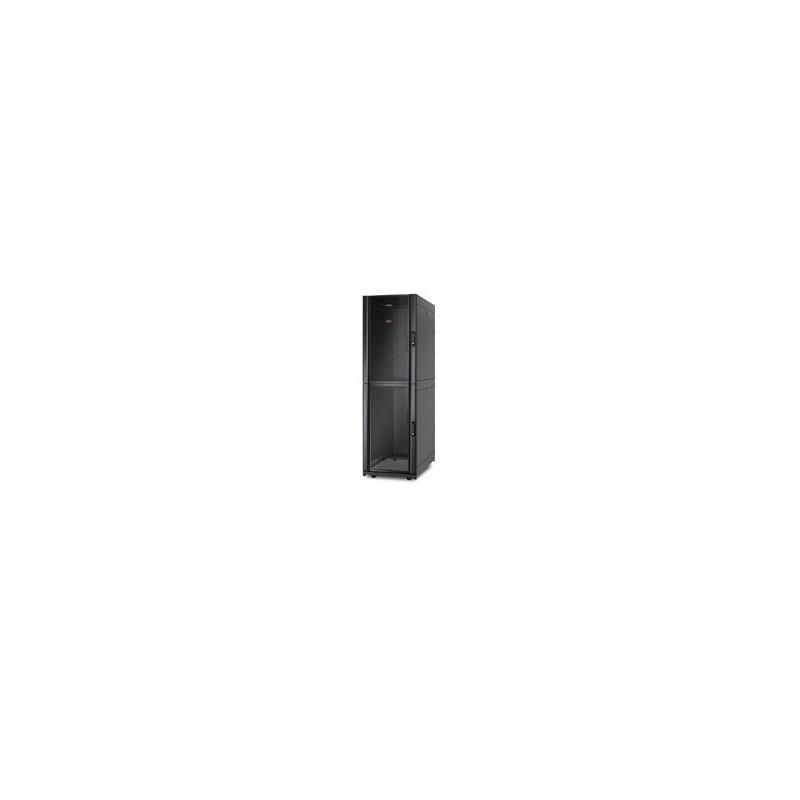 APC NetShelter SX Colocation 2 x 20U 600mm Wide x 1070mm Deep Enclosure with Sides Black