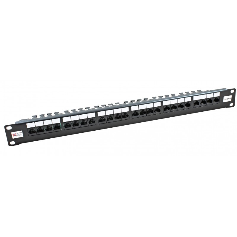 24 Port Cat6 Utp Ccs 20 20 Right Angled Patch Panel Cat6