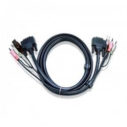Aten 2L-7D03U DVI-D/USB KVM cable