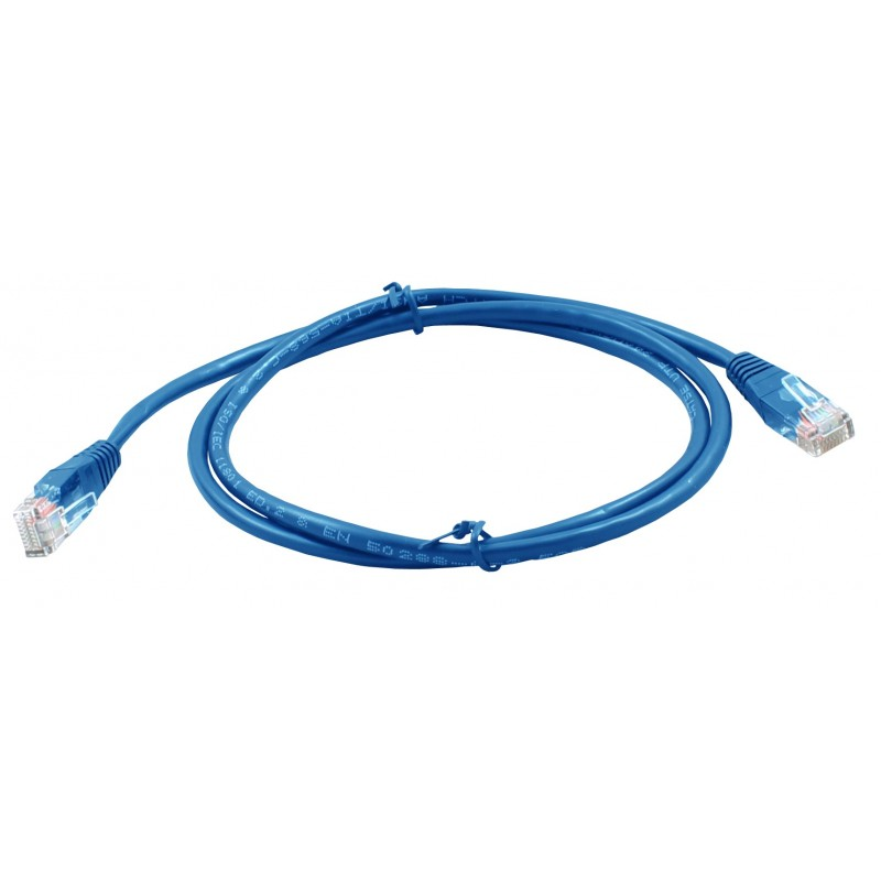 Ethernet Cable Cat5e 500 mm RJ45 Plug to RJ45 Plug Purple Patch Lead