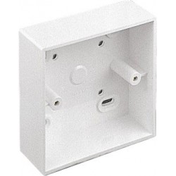 CCS SingleGang Surface Mount Back Box (32mm)