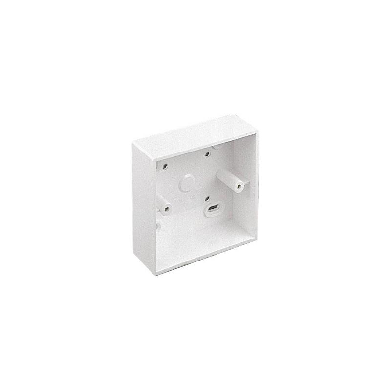 CCS SingleGang Surface Mount Back Box (32mm)