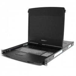 "StarTech 1U 17"" HD 1080p Dual Rail Rackmount Widescreen LCD Console"