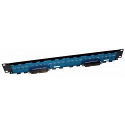 16 RJ45 to 1 50 Way Telco UTP Patch Panel