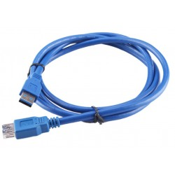 USB 3.0 A Male - A Female Extension Cable