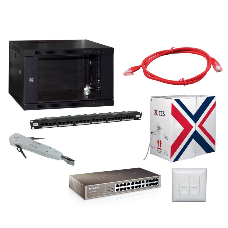 cat5e complete network starter kit cat5e cabling kits