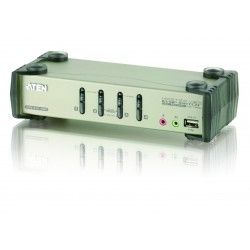 Aten CS1734B 4-Port USB 2.0 KVMP™ Switch with OSD